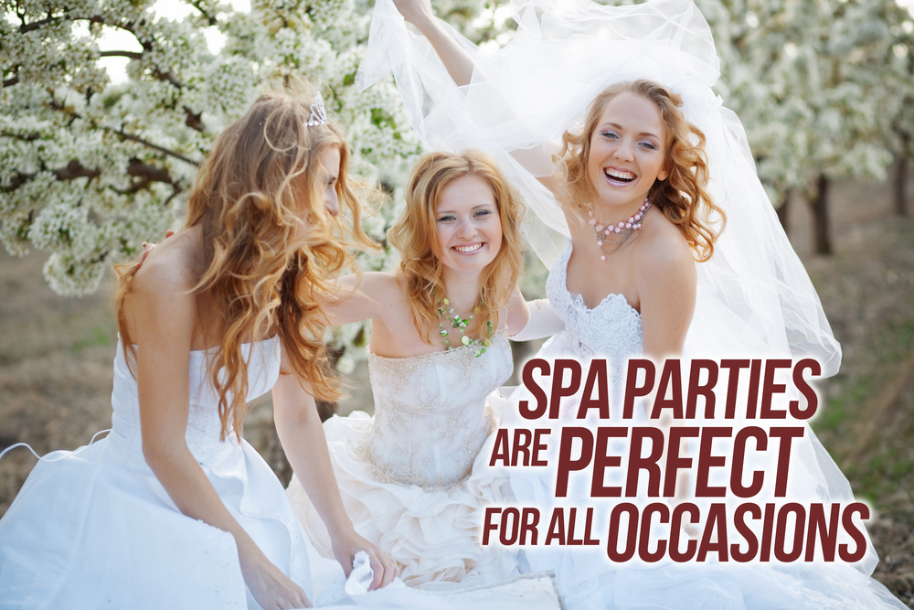 Image result for bride spa party